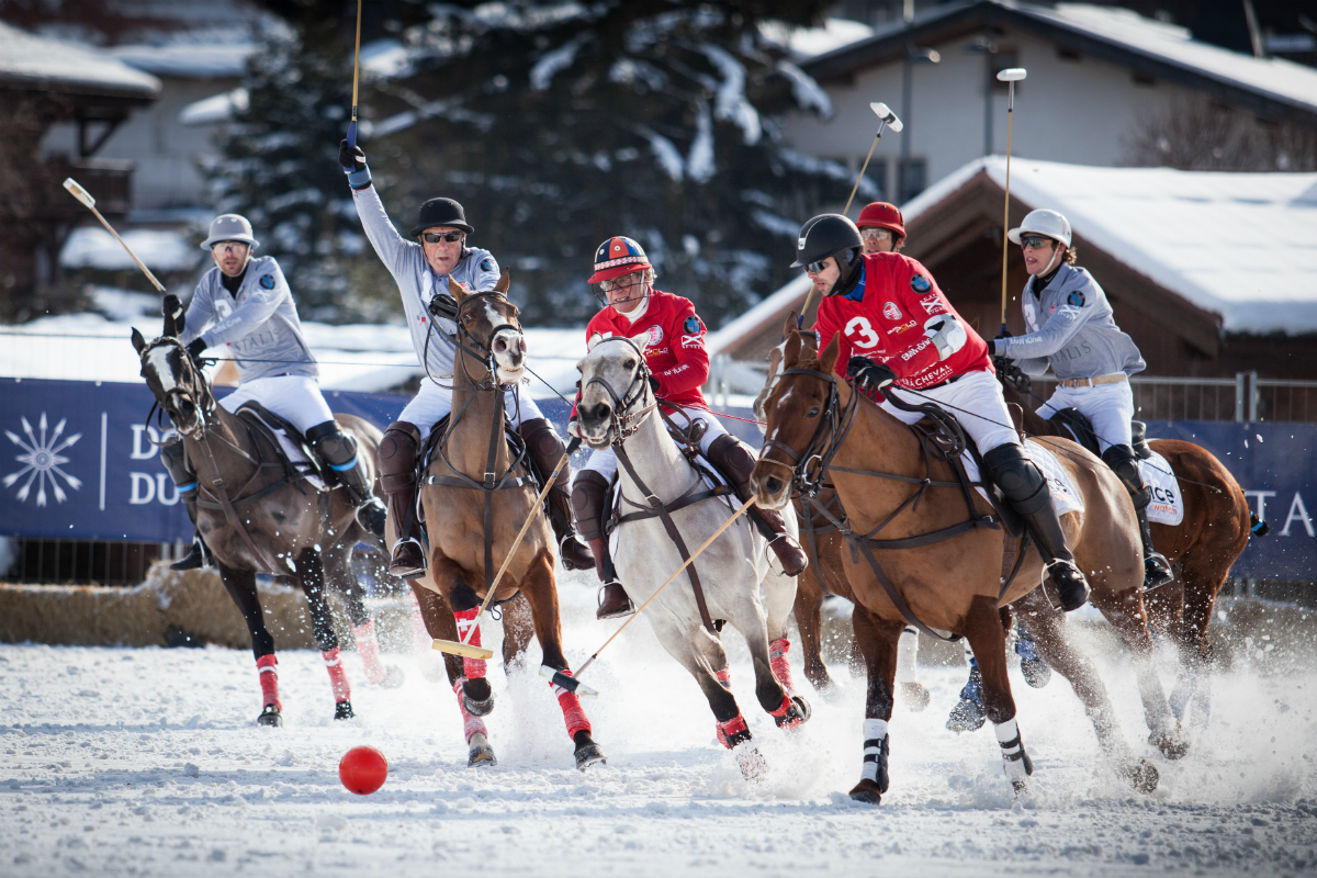 BMW Snow Polo Masters Tour
