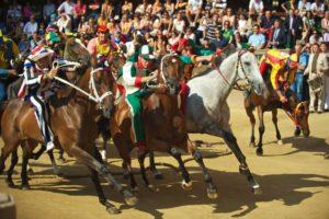 Il Palio di Siena Horse Race - Tuscany