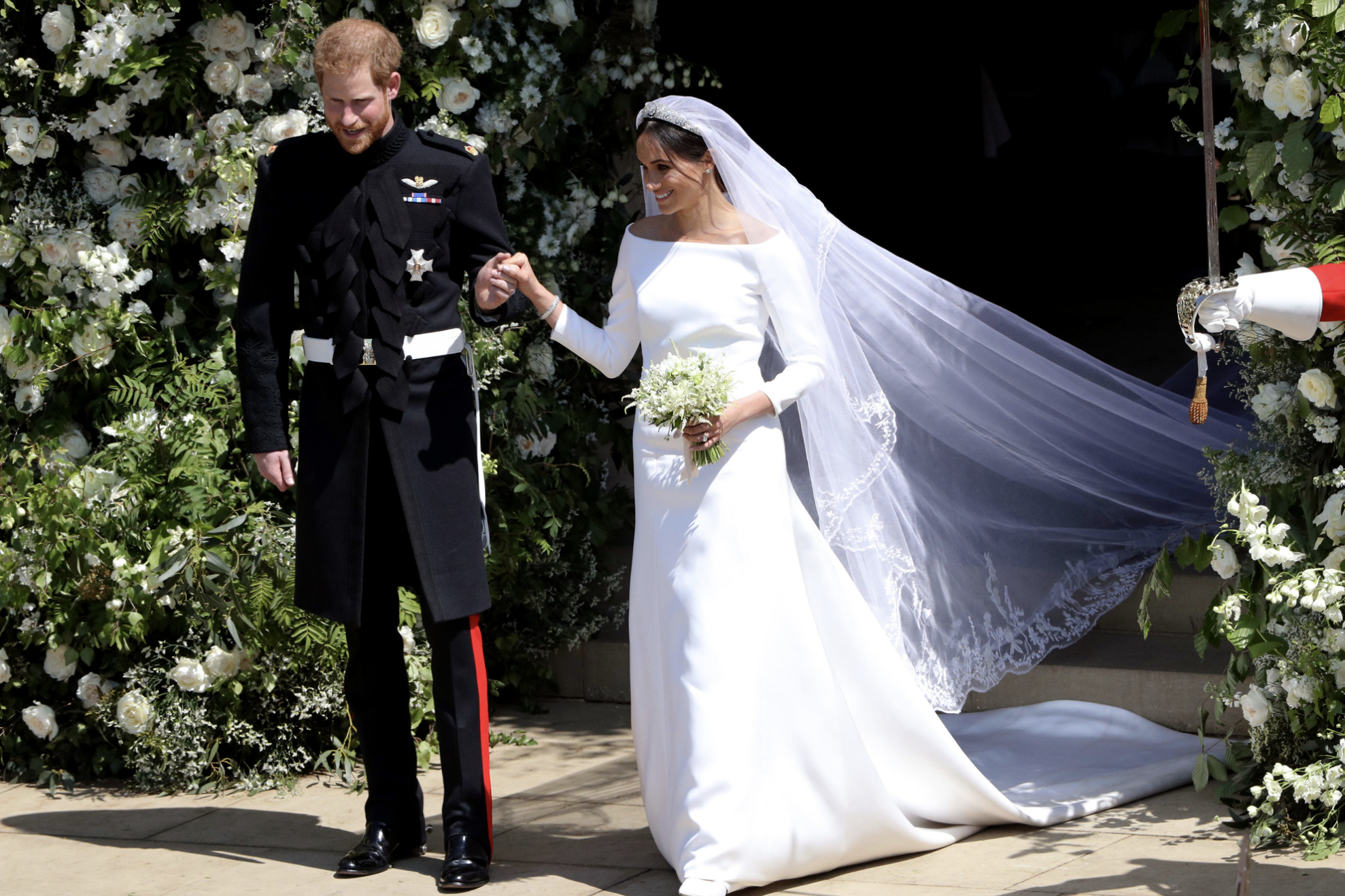The Wedding Costumes of Prince Harry and Meghan Markle