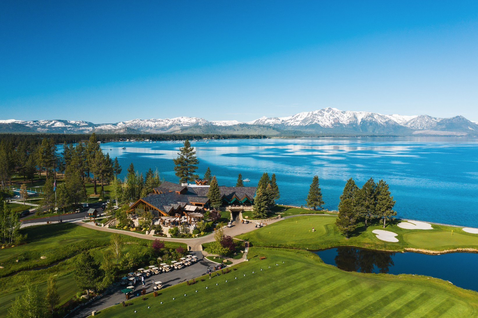 Set along the beautiful shoreline of South Lake Tahoe, Edgewood Tahoe is a world-class beachfront destination resort ideal for a getaway immersed in the Sierras with the luxe touches of resort style living.