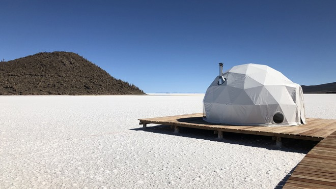 Bolivia Offers Luxury Glamping